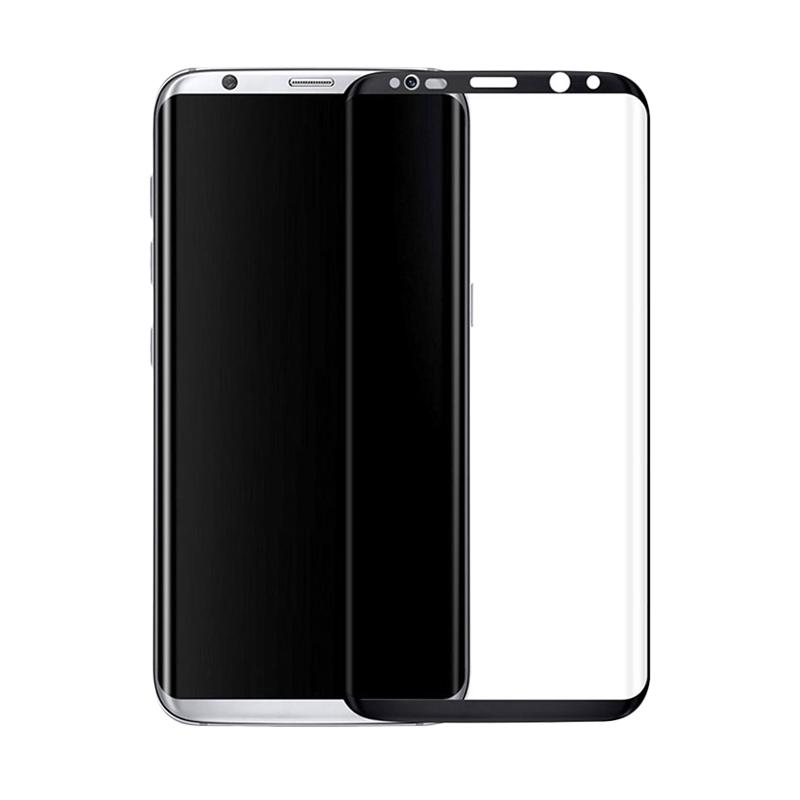 3T Full Cover Tempered Glass Screen Protector for Samsung Galaxy S8 Plus - Black