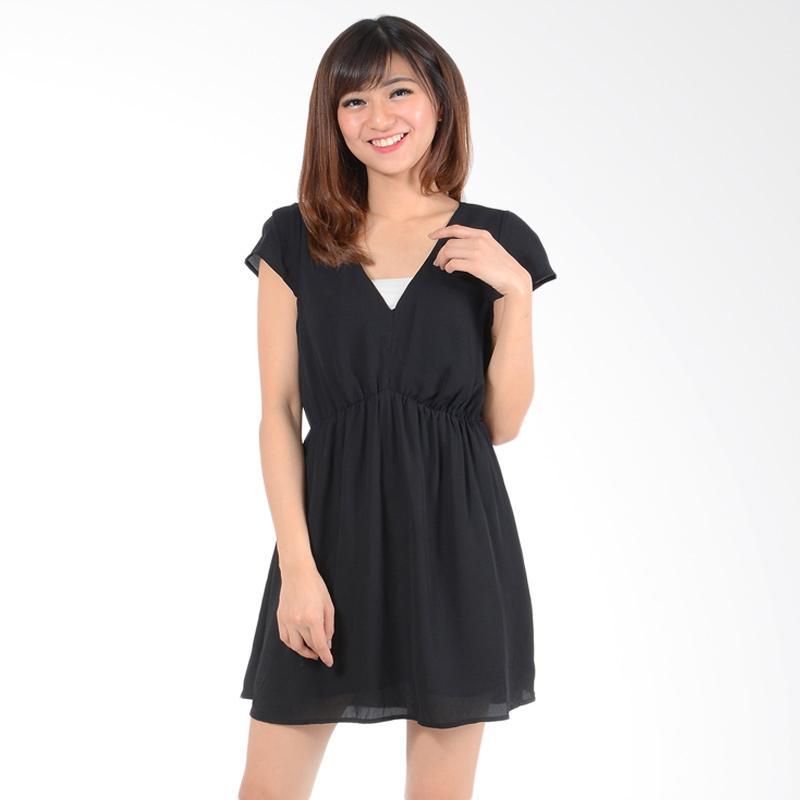 harga Edberth Alisha Forever 21 Mini Dress - Black Blibli.com
