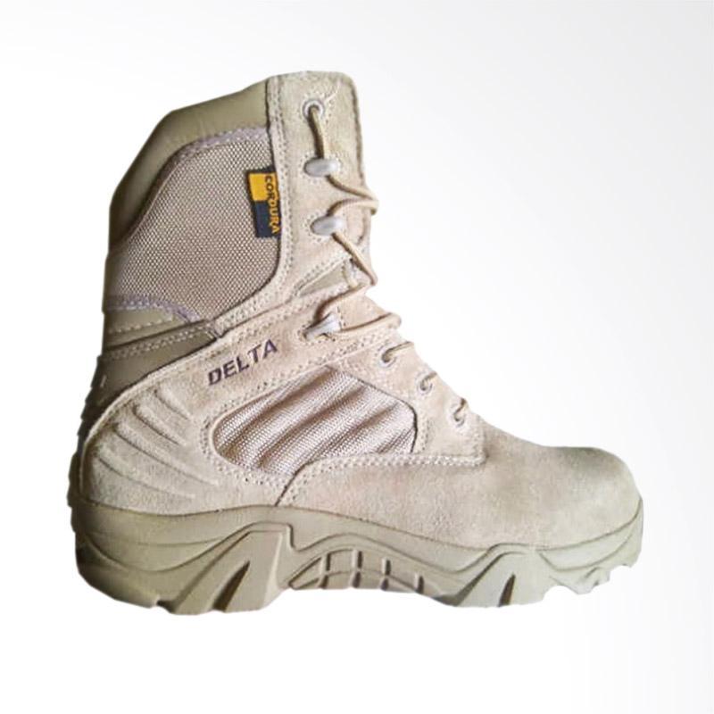 harga Delta Tactical Army Shoes Sepatu Safety - Cream Blibli.com