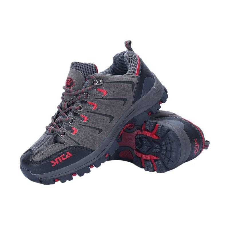 Snta Sepatu Gunung Unisex - Grey Red [401]
