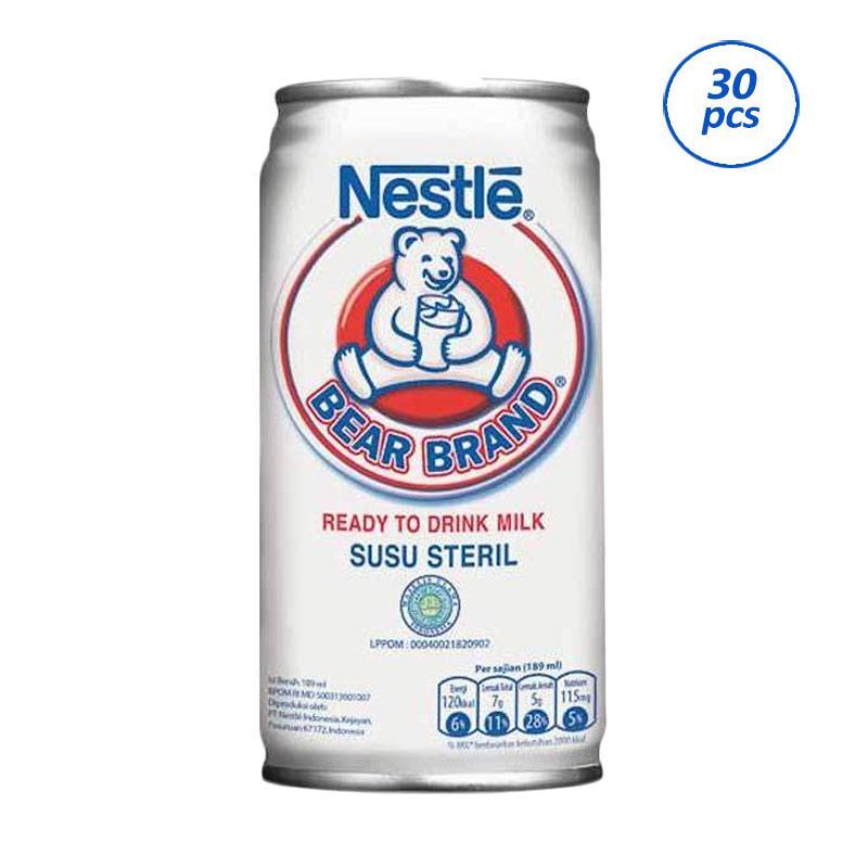 Jual Nestle Bear Brand Minuman Susu 30 Pcs Sby Barat Online April 2021 Blibli