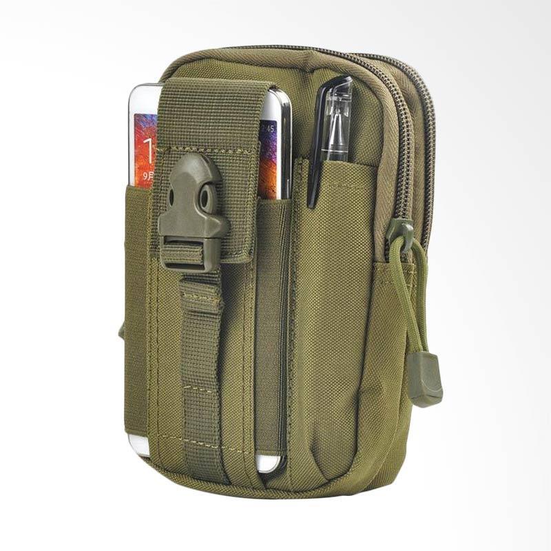 28fashion Tactical Stylish Tas Pinggang Pria - Hijau