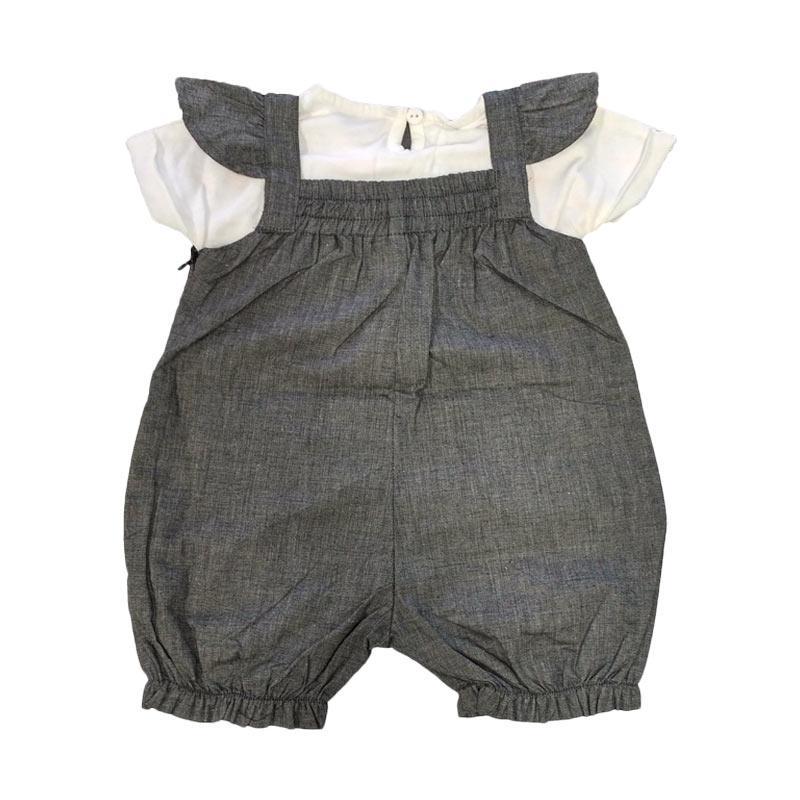 harga Tiny Button Motif Baju Jumper Bayi Kaos - Abu Putih Blibli.com