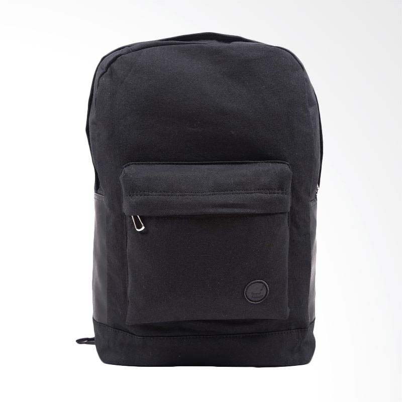 harga Pulcher Bags Gemini Tas Ransel Pria - Black + Free Pouch Blibli.com
