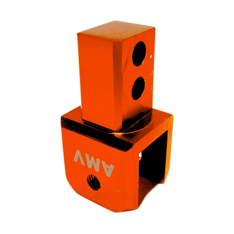 harga AMV Tebal Peninggi Shock for Motor Matic - Orange Blibli.com