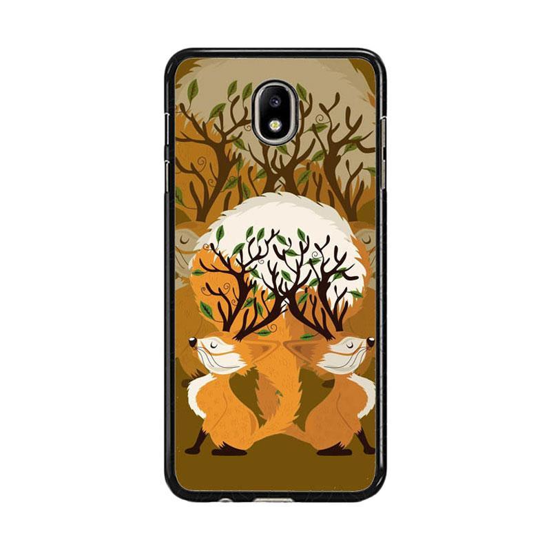 Acc Hp Art Abstract Fox Tree E0192 Custom Casing for Samsung J7 Pro