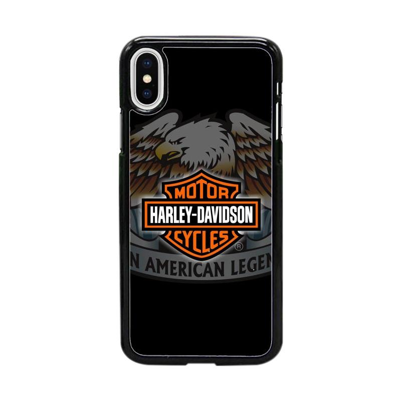 Acc Hp Harley Davidson An American Legend W4944 Custom Casing for iPhone X