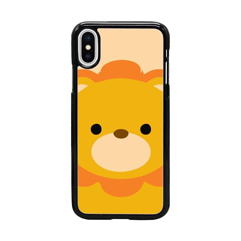 Acc Hp Lion King Animals W5047 Custom Casing for iPhone X