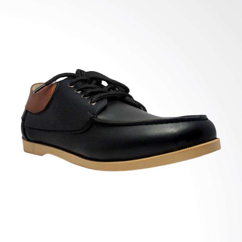 Jual D-Island Shoes Casual Italy Sepatu Pria - Black Online - Harga    Kualitas Terjamin  a1dec21541