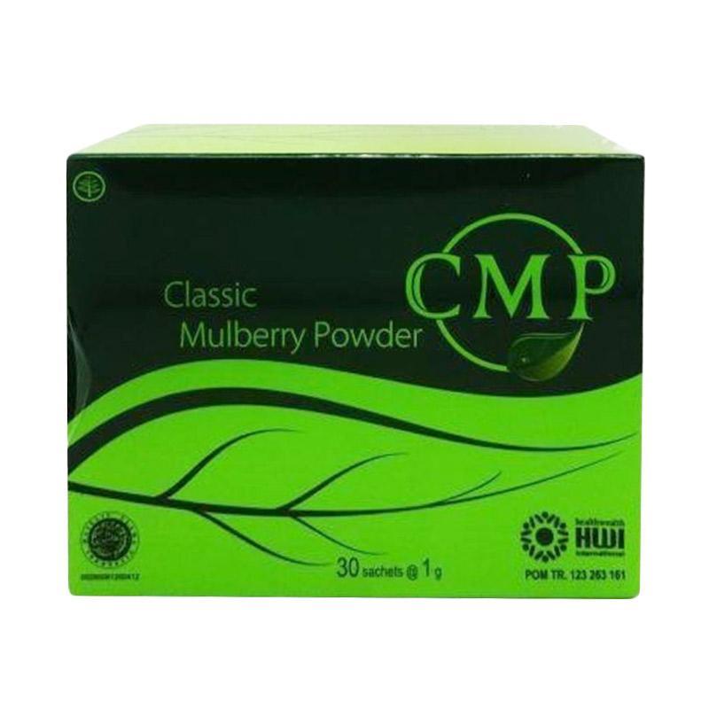 Jual HWI CMP Classic Mulbery Powder Obat Herbal [30 Sachets] Online November 2020 | Blibli