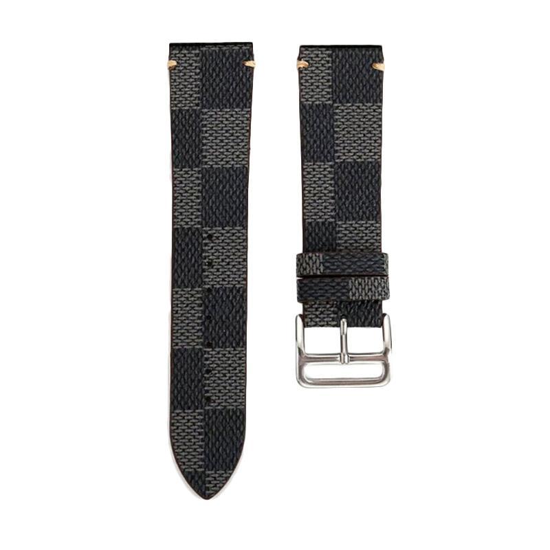 LOLLYPOP Checkers Strap for Samsung Galaxy Gear S3 - Grey