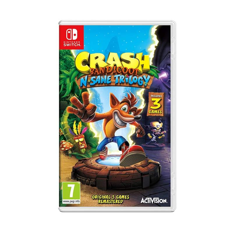 Nintendo Switch Crash Bandicoot DVD Game