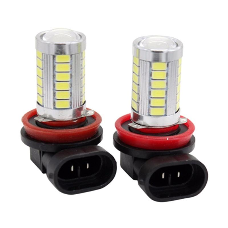 harga JMS Foglight H8 / H11 33 SMD 5730 Headlight LED Set Bohlam Lampu - Pink [1 Pair / 2 pcs] Blibli.com
