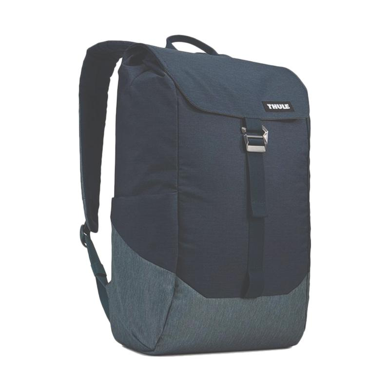 Thule TLBP 113 Lithos Backpack Tas Laptop Carbon Blue 16 L