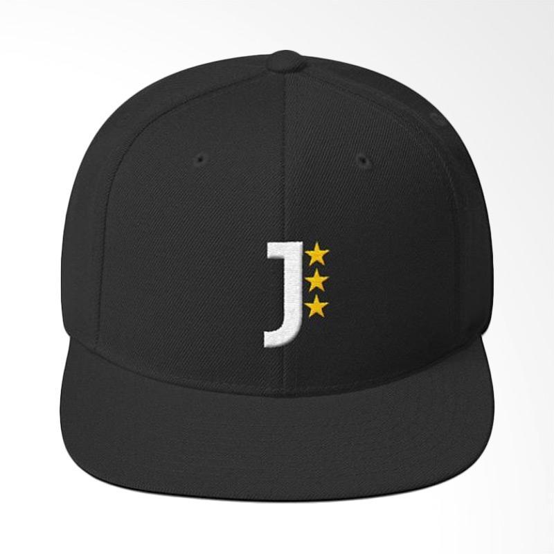 Jersi Clothing Juventus Snapback Topi Pria - Hitam. Brand  Jersi Clothing 5e385bfda667