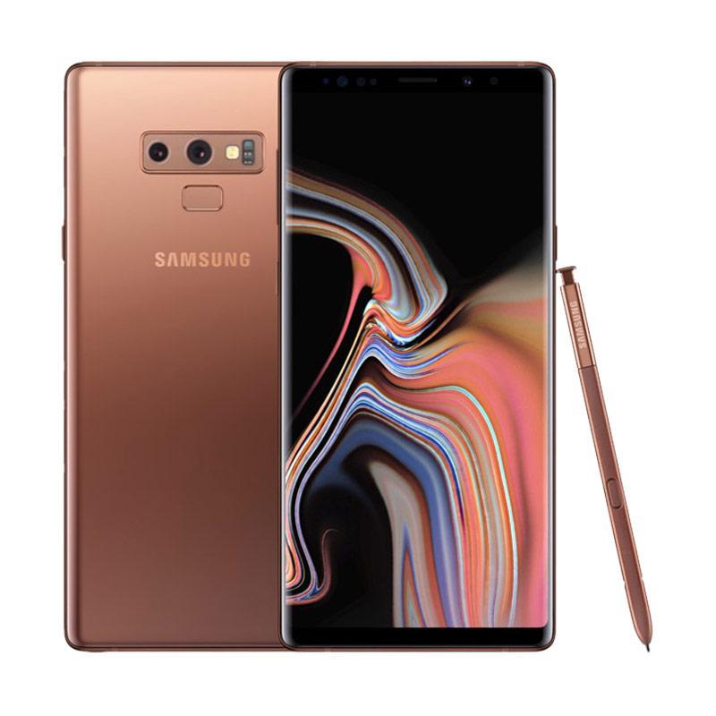 Preorder - Samsung Galaxy Note9 Smartphone - Metallic Copper [128GB/ 6GB] + Samsung Smart TV 32 Inch HD [UA32N4300] -