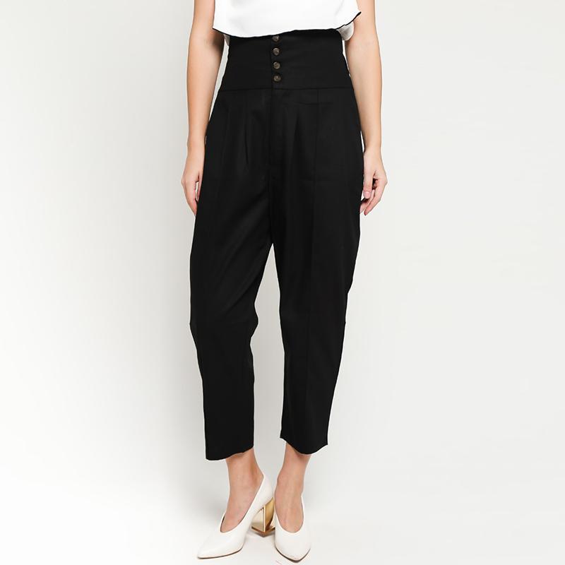 Ben Bella C50 012 Four Buttons Long Pants Wanita Black