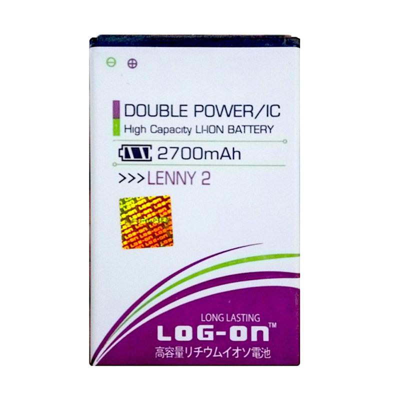 harga Log On Double Power Battery for WIKO LEnny 2 [2700 mAh] Blibli.com