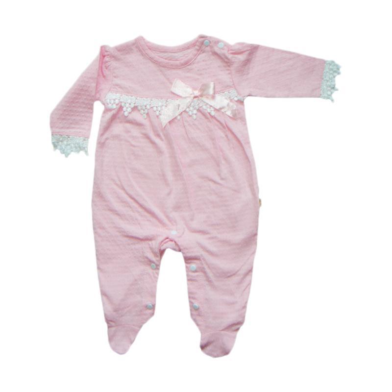 harga PLEU KJ-Renda Zipper Baju Jumpsuit Bayi Blibli.com