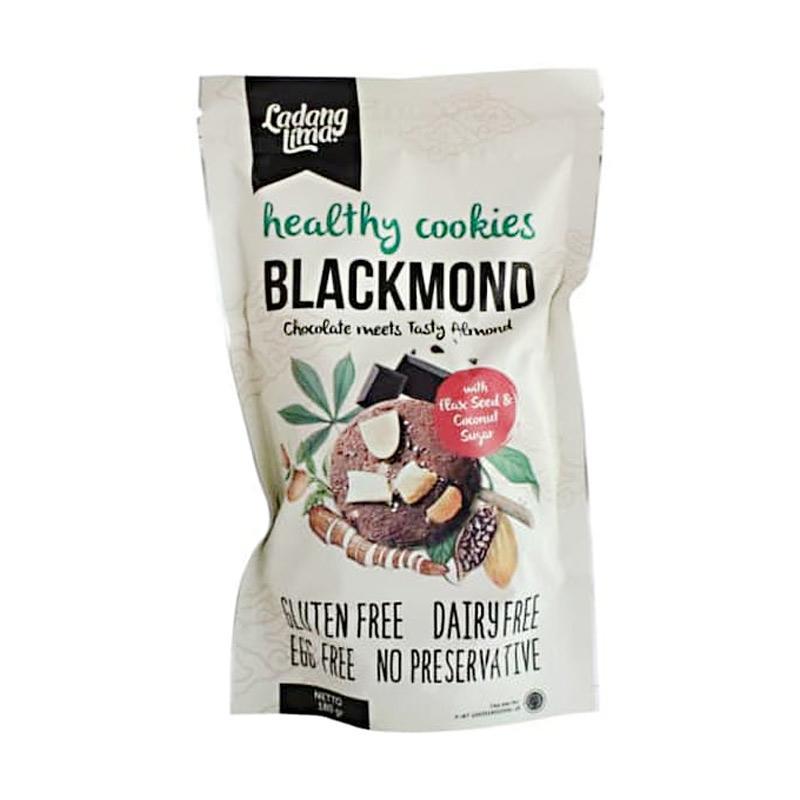 Ladang Lima Blackmond Cookies Kue Cokelat Almond