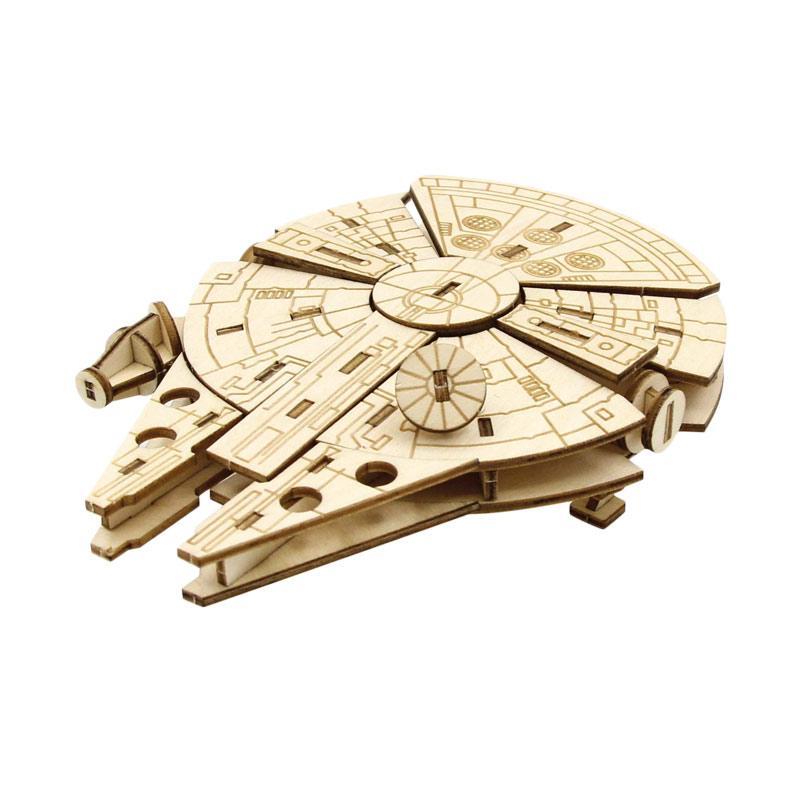 Kigumi Incredibuilds 3D Puzzle - Milenium Falcon