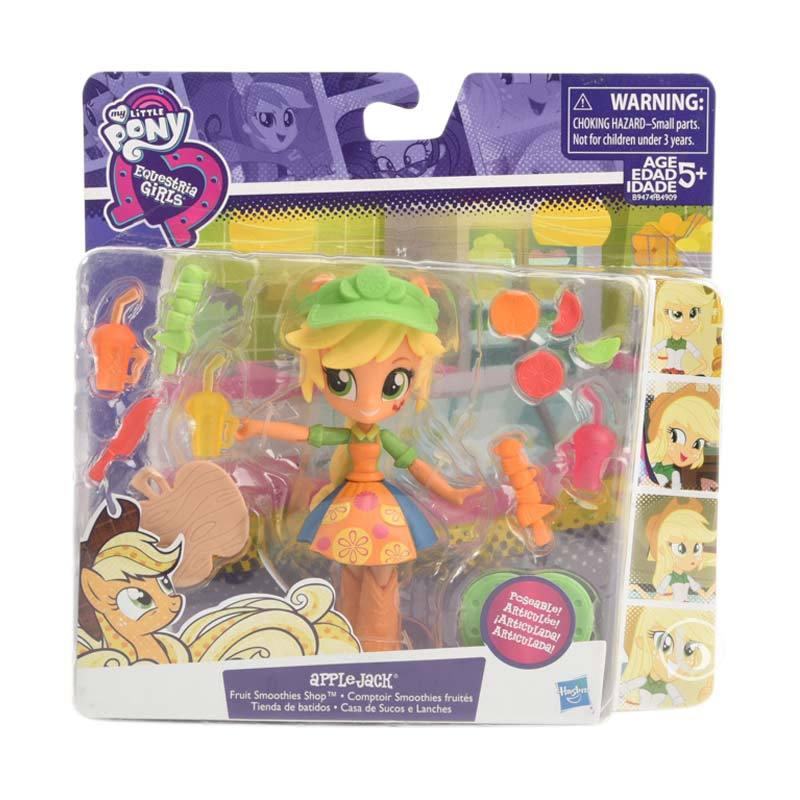 MY LITTLE PONY EQUESTRIA GIRLS FRUIT SMOOTHIES SHOP APPLEJACK PLAYSET