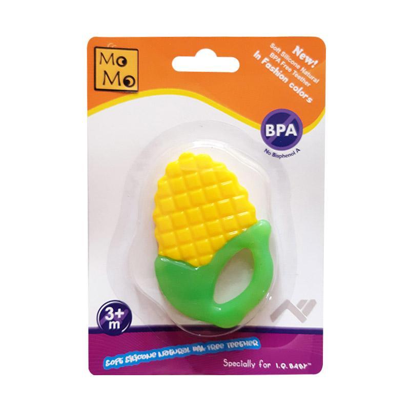 MOMO 136 Jagung Soft Silicone Teether Gigitan Bayi