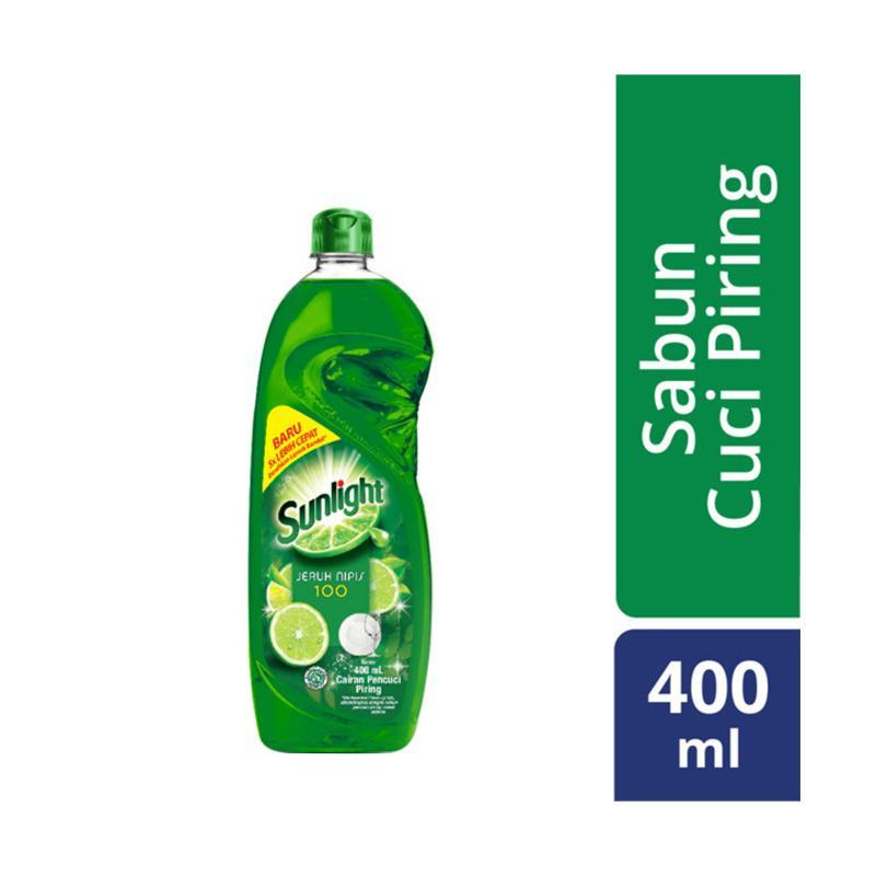 SUNLIGHT Jeruk Nipis Sabun Cuci Piring [400 mL/ Botol ]