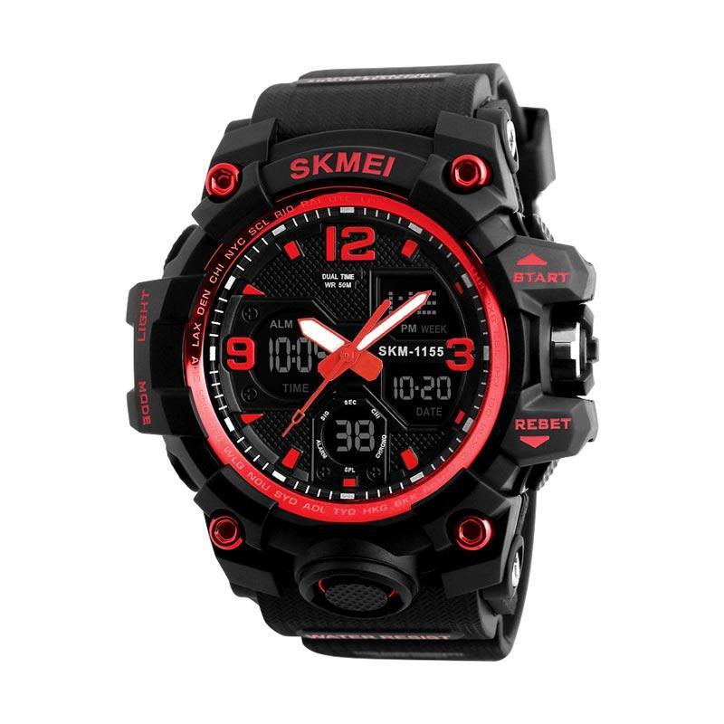 0e39df779ef Jual SKMEI Dual Time Jam Tangan Pria [1155] Terbaru - Harga Promo ...