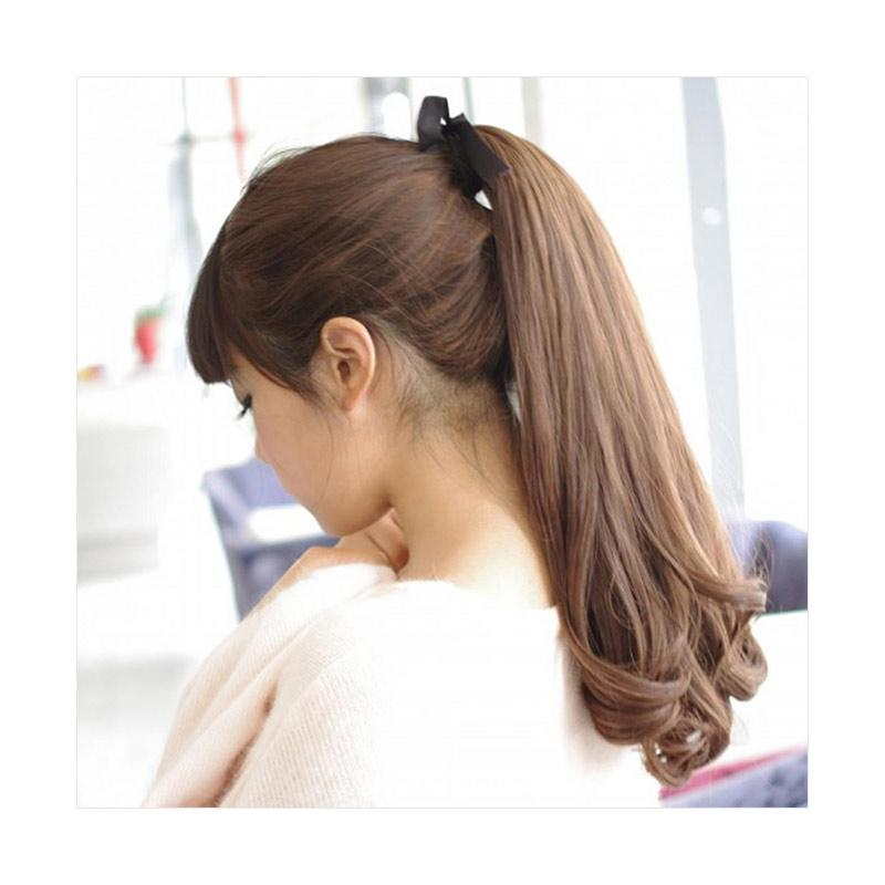 Bluelans Long Curly Ponytail Hair Extension