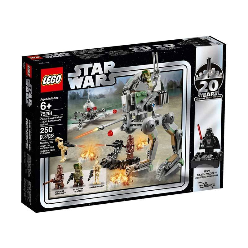 20th Anniversary Edition LEGO Brand New LEGO-75261 Clone Scout Walker