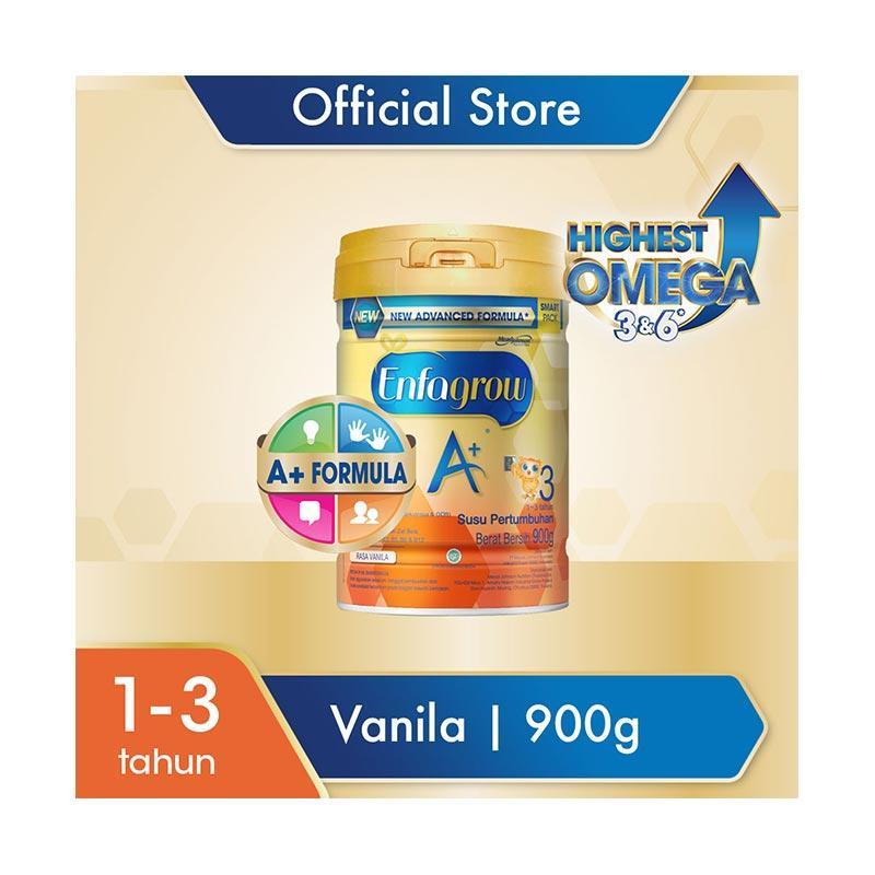 Enfagrow A 3 Vanilla Susu Formula 900 g