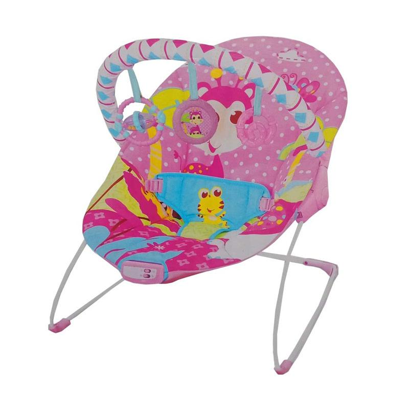 Mastela Music and Soothe Baby Bouncer