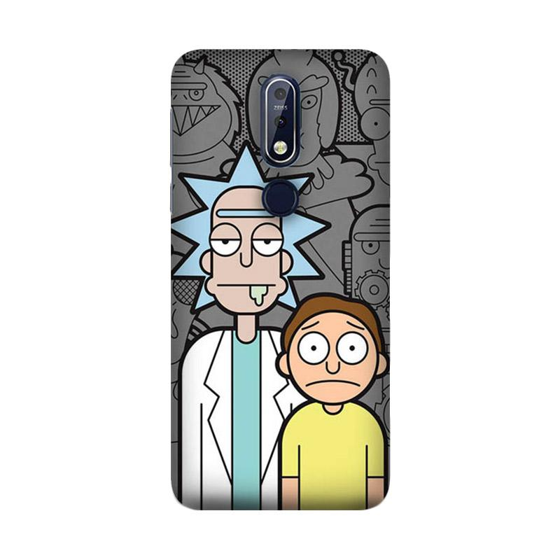 guard case guard case rick and morty wallpaper p0656 custom hardcase casing for nokia 7 1 full02