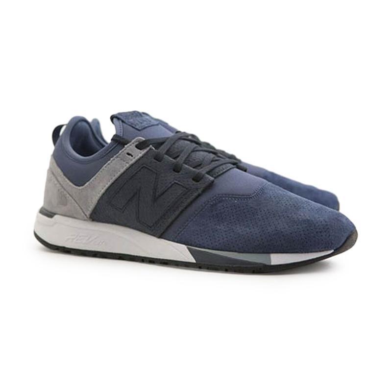 New Balance 247 Luxe Knit Sneakers Sport Sepatu Pria