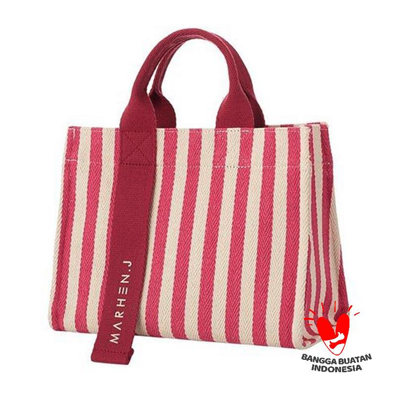 MARHEN J Rico Stripe Mini Hand bag