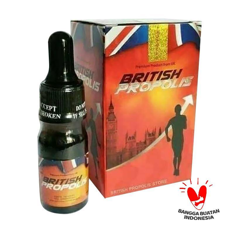 British Propolis Obat Herbal 4 pcs x 6 mL Paket Hemat Bundling