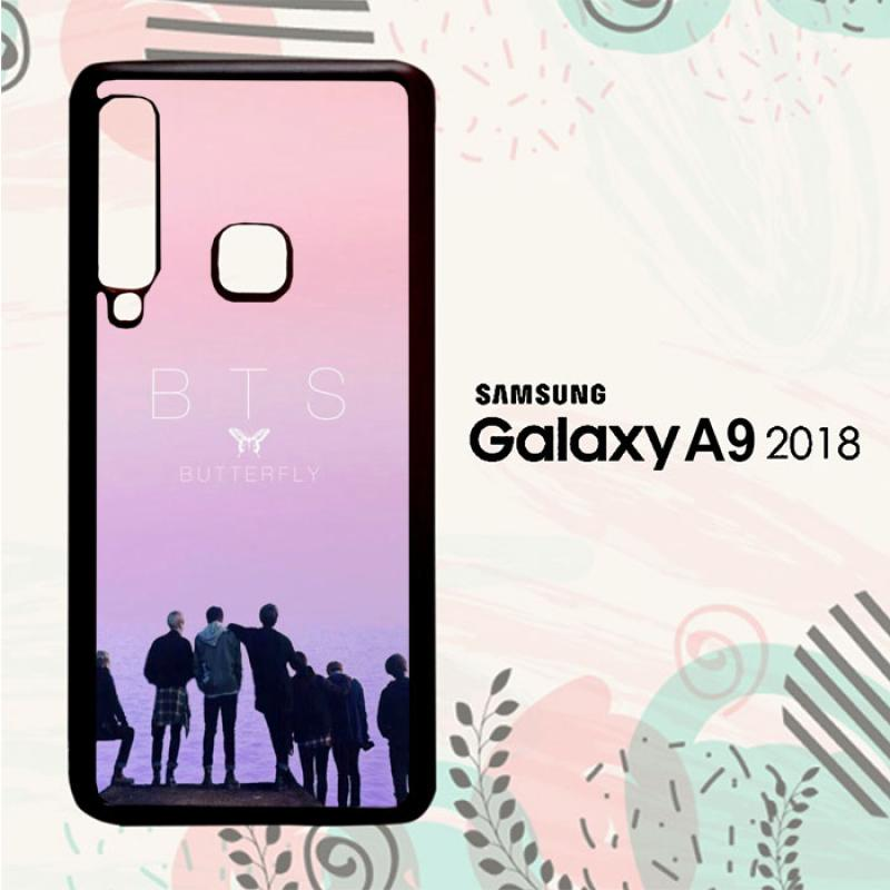bunnycase casing samsung galaxy a9 2018 custom hardcase hp bts wallpaper li0304 full01