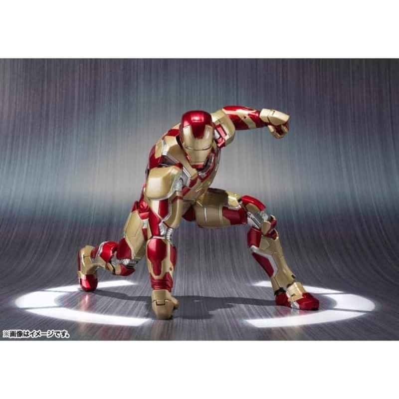"THE AVENGERS 2// FIGURA IRON MAN MARK 43 16 CM AGE OF ULTRON 6,3/"" IN BOX"
