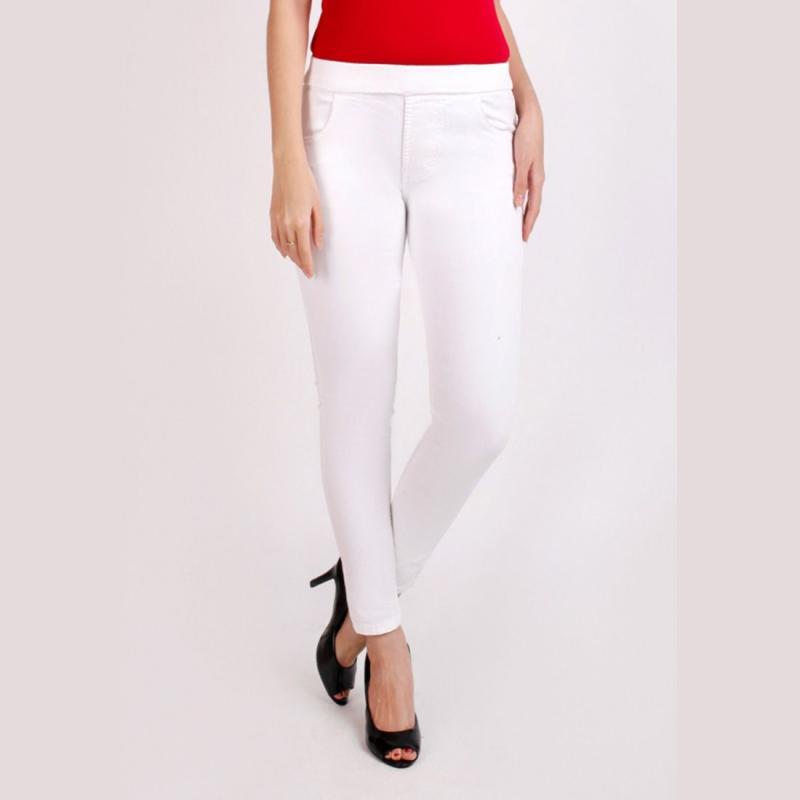 Jual Jsk 8108 Jeans Legging Jeans Warna Putih Online Oktober 2020 Blibli Com