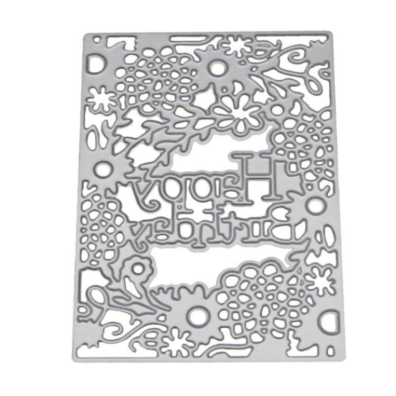 Grow Up Memory DIY Cutting Dies Metal Stencil Scrapbooking Album Card Embossing