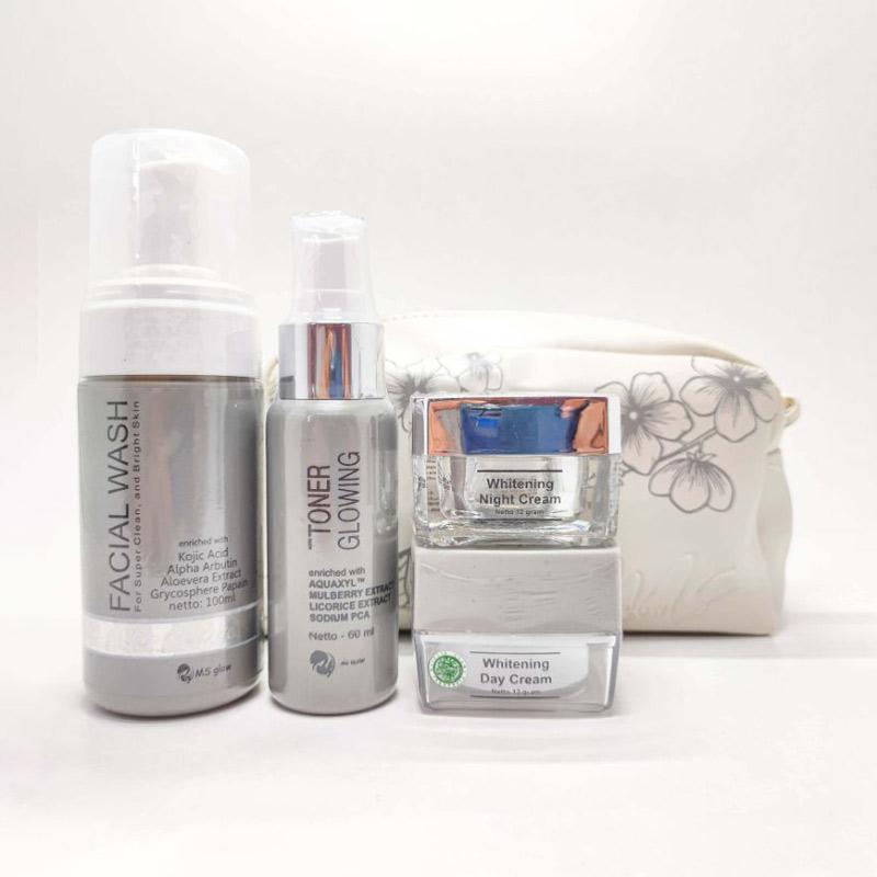 Jual Ms Glow Whitening Series Paket Perawatan Wajah Original Online Agustus 2020 Blibli Com