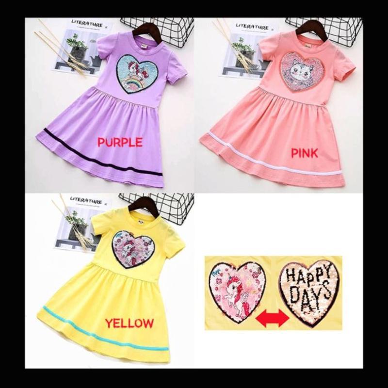 Jual Oem Zh Dgp052 Sequin Blink Two Cute Side Dress Anak Perempuan Murah Agustus 2020 Blibli Com