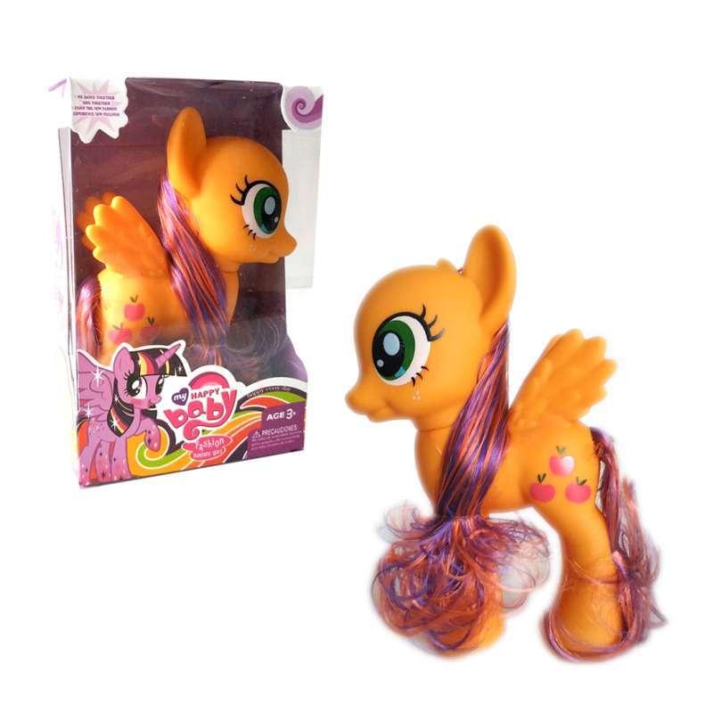 Jual Little Pony Happy Baby Bk 717 Applejack Online September 2020 Blibli Com