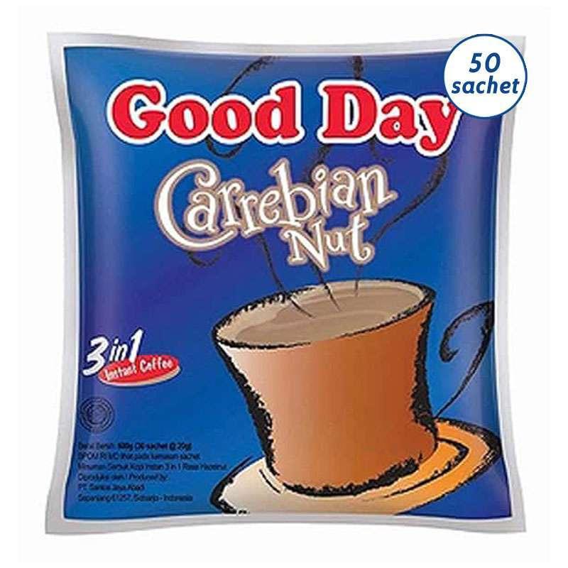 Jual Good Day Carrebian Nut 20gr 5 X 10 Sachet 1 Pak 1 Bag Goodday Carebian Carabian Online November 2020 Blibli