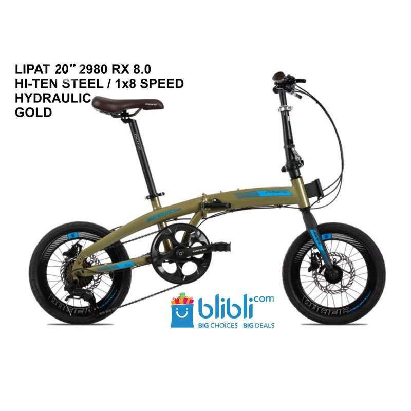 Jual Sepeda Lipat Pacific 20 2980 Rx 8 0 Hydraulic Online Desember 2020 Blibli