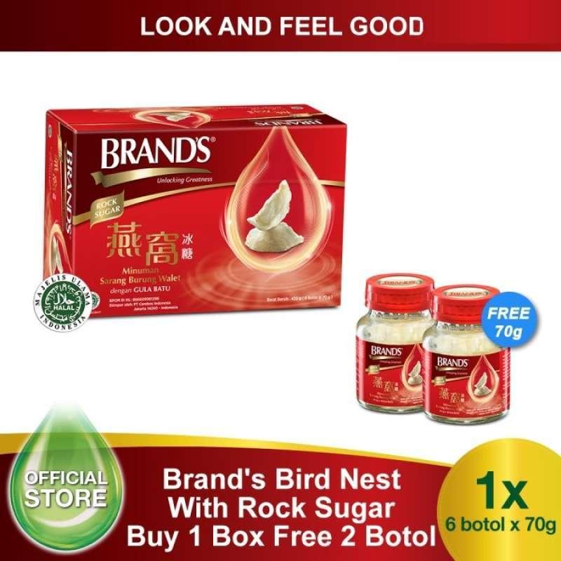 Buy BRAND S Essence Birds Nest with Rock Sugar 70 Gr 6 Pcs Free 2 Bottles Bird Nest 70gr