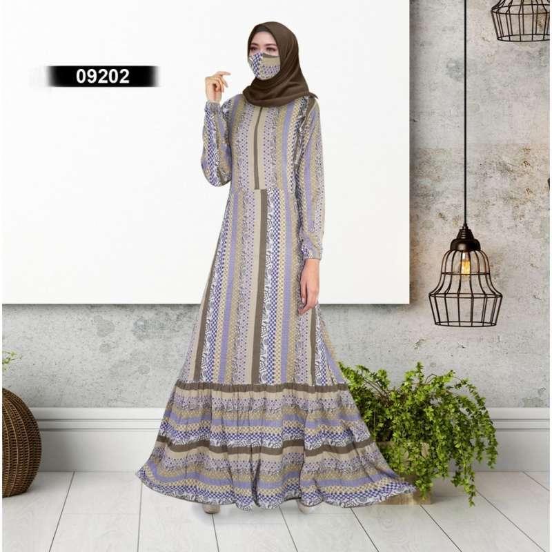 Jual Nyonya Gamis Home Dress Batik Sultan Bahan Rayon Viscose Premium Online Maret 2021 Blibli