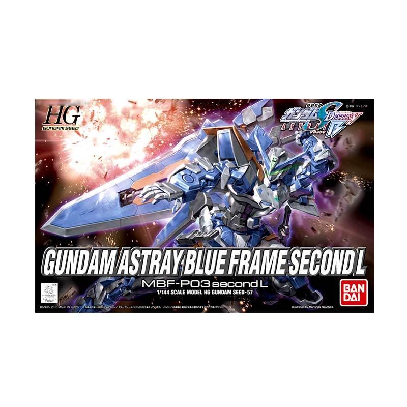 Bandai HG Gundam Astray Blue Frame Second L Model Kit [1:144]