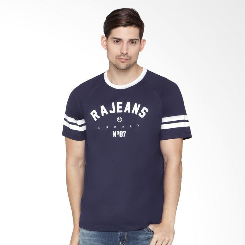 RA Jeans Mens Alan Top RAM.7.165N.SS T-Shirt - Navy Extra diskon 7% setiap hari Extra diskon 5% setiap hari Citibank – lebih hemat 10%
